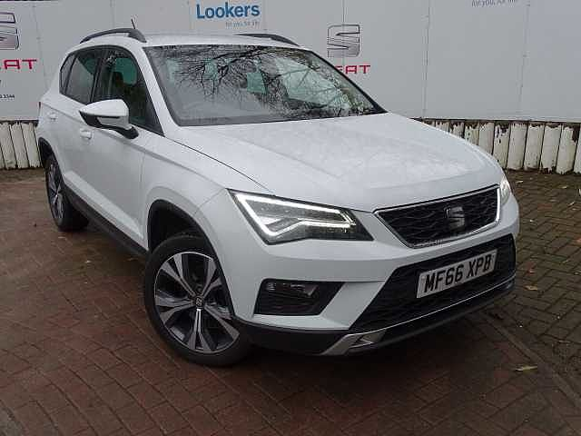 SEAT Ateca SUV 1.6 TDI (115ps) First Ed Ecomotive 5-Dr